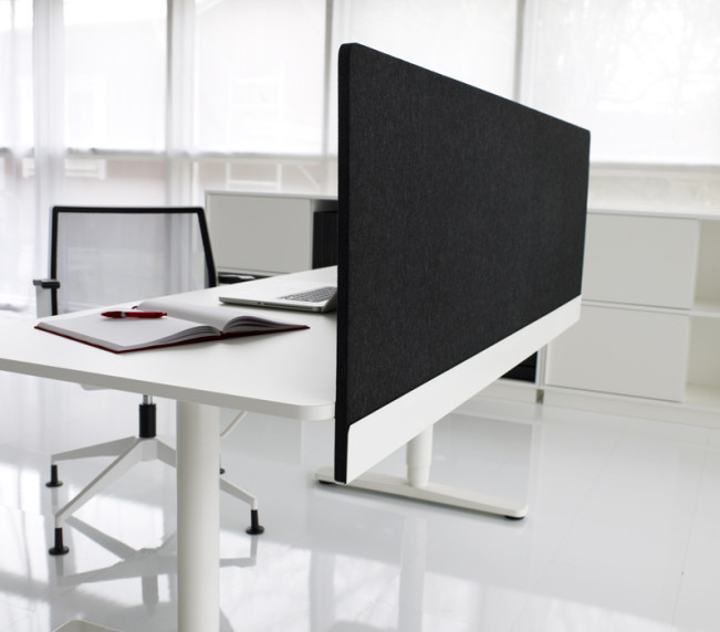 Henry arbetsbord och bordsskärm