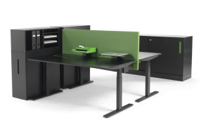 Nomono T arbetsbord och förvaring