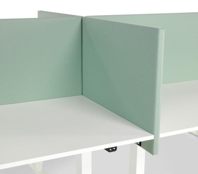 VX arbetsbord och bordsskärm
