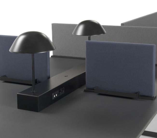 VX konferensbord och bordsskärm