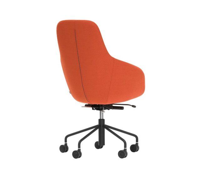 Glove_high_tyg-orange_svart_5-ving_bakifr_80222_fri