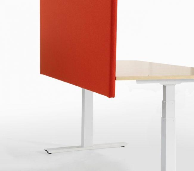 VX 10 arbetsbord med bordsskärm